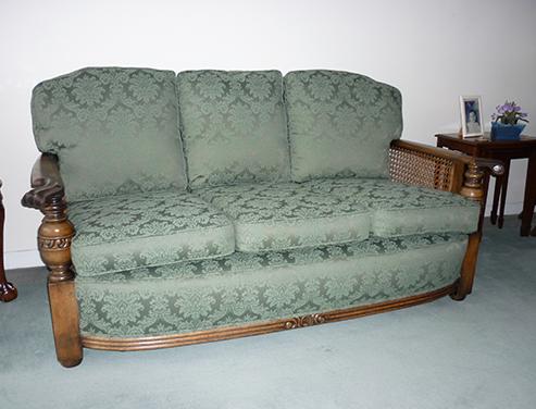 Master Upholsterers Settee